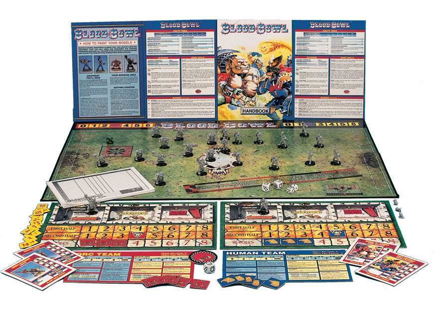 blood bowl contents