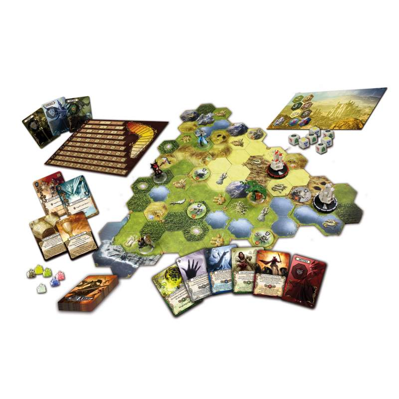mage knight board game setup