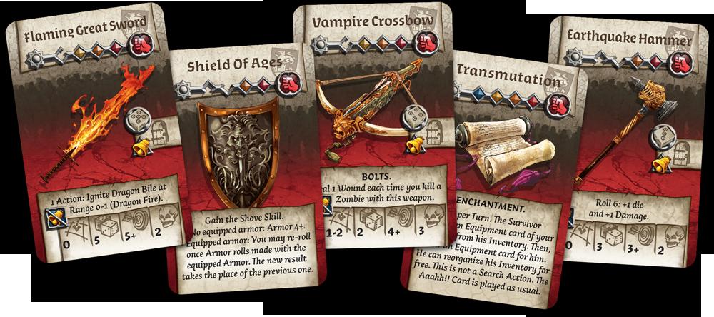 zombicide black plague cards